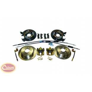 Crown Automotive crown-D35DISC Kits pastillas o zapatas de freno